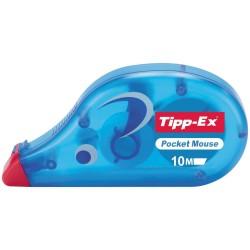 TIPP-EX - Pocket Mouse corrección de películo/cinta Azul 10 m 10 pieza(s)