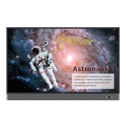 """Benq - RM5502K 139,7 cm (55"""") LED 4K Ultra HD Pantalla táctil Panel plano interactivo Negro Procesador incorporado"""