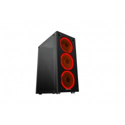 Mars Gaming - MCG RED Midi Tower Negro