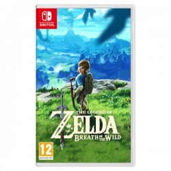 Nintendo - The Legend of Zelda: Breath of the Wild vídeo juego Nintendo Switch Básico