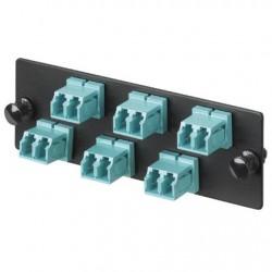 Panduit - FAP6WBUDLCZ adaptador de fibra óptica LC Azul 1 pieza(s)