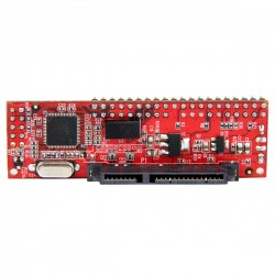 StarTech.com - Conversor Adaptador IDE PATA de 40 pines a SATA - Convertidor para Disco Duro SSD o Unidad Óptica