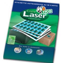 Tico - Copy laser premium etiqueta autoadhesiva Blanco 400 pieza(s) - LP4W-105148
