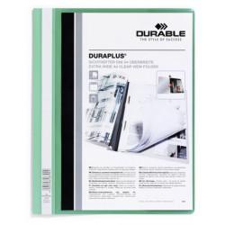 Durable - DURAPLUS A4 Verde, Transparente