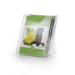Durable - 858019 estante para revistas Transparente