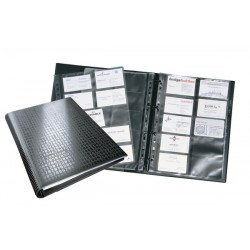 Durable - 2409-01 carpeta de cartón A4 Negro
