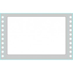 Tico - TAB1-1499 etiqueta autoadhesiva Blanco Rectángulo Permanente 1500 pieza(s)