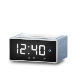 Energy Sistem - Smart Speaker Wake Up Reloj despertador digital Turquesa