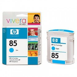 HP - Cartucho de tinta DesignJet 85 cian de 28 ml