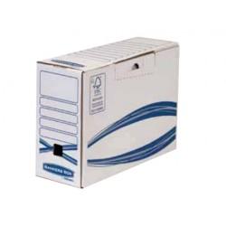 Fellowes - 4460201 empaque Caja de cartón para envíos Azul, Blanco