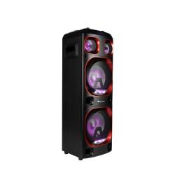 NGS - Wild SKA 1 300 W Sistema de megafonía con ruedas Negro