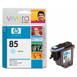 HP - Cabezal de impresión DesignJet 85 cian claro