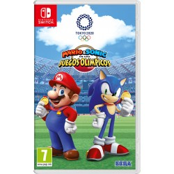 Nintendo - Mario & Sonic at the Olympic Games Tokyo 2020, Switch vídeo juego Nintendo Switch Básico Inglés, Español