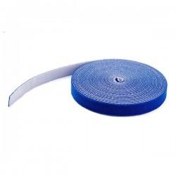StarTech.com - 7,5m - Bobina de Gancho y Bucle - Azul