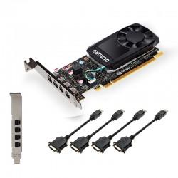 PNY - VCQP1000DVIV2-PB tarjeta gráfica NVIDIA Quadro P1000 V2 4 GB GDDR5