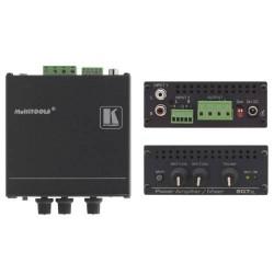 Kramer Electronics - 907XL STEREO POWER AMPLIF/MIXERPERP (40 WATTS PER CHANNEL) IN