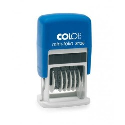 Colop - S 126 Automático Number stamp