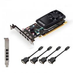 PNY - VCQP620DVIV2-PB tarjeta gráfica NVIDIA Quadro P620 V2 2 GB GDDR5