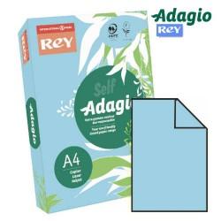 Adagio - PAQUETE 500 HOJAS PAPEL A4 80GR. AZUL CELESTE PALIDO ADAGIO 156225