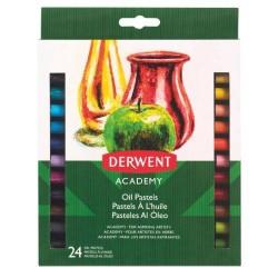Derwent - Academy Pastel al óleo Multicolor 24 pieza(s)