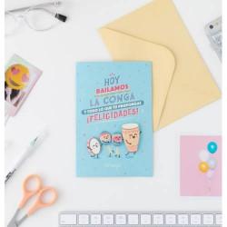 Mr. Wonderful - WOA09781ES tarjeta de felicitación y pésame