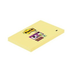 Post-It - PACK 12 BLOC DE NOTAS ADHESIVAS AMARILLAS 100 HOJAS (76X127) POST-IT 3M655
