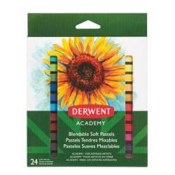 Derwent - Academy Pintura al pastel Multicolor 24 pieza(s)