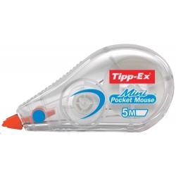 BIC - TIPP-EX MINI POCKET MOUSE corrección de películo/cinta Blanco