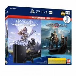 Sony - PlayStation 4 Pro + God of War + Horizon Negro 1000 GB Wifi