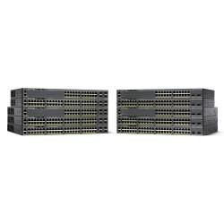 Cisco - Small Business WS-C2960X-24TS-L switch Gestionado L2/L3 Gigabit Ethernet (10/100/1000) Negro 1U
