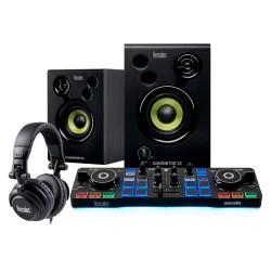 Hercules - DJStarter Kit controlador dj DVS (Sistema de vinilo digital) para scratch digital