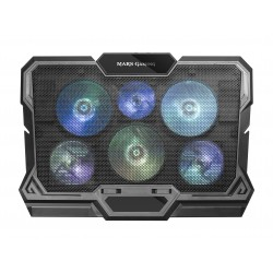 "Mars Gaming - MNBC4 soporte para ordenador portátil Negro 43,9 cm (17.3"")"