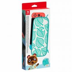 Nintendo - 10003984 funda para consola portátil Verde, Blanco