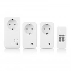 Smartwares - Set enchufe Smart de interior set SH5-SET-GW