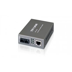 TP-LINK - 10/100Mbps Single-mode Media Converter convertidor de medio 1310 nm