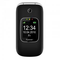 "Funker - C85 6,1 cm (2.4"") 85 g Negro Teléfono básico"