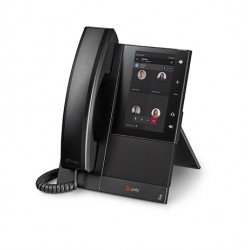 POLY - CCX 500 teléfono IP Negro Terminal con conexión por cable LCD