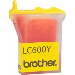 Brother - LC600Y Amarillo cartucho de tinta