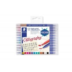 Staedtler - 3005 pluma fuente Multicolor 12 pieza(s)