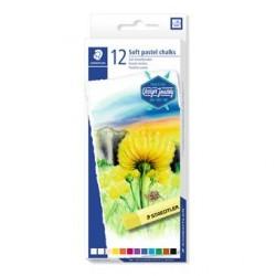 Staedtler - 2430 Pintura al pastel Multicolor Suave 12 pieza(s)