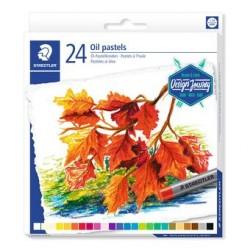 Staedtler - 2420 Pastel al óleo Multicolor 24 pieza(s)