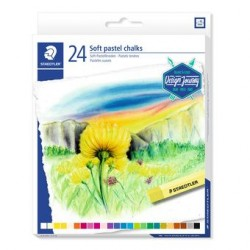 Staedtler - 2430 Pintura al pastel Multicolor Suave 24 pieza(s)