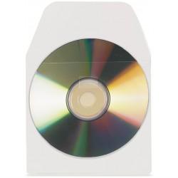 3L - 6832-100 funda para discos ópticos 100 discos Transparente