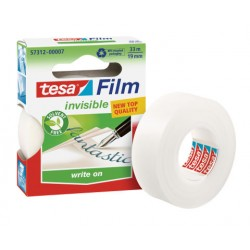 TESA - 57312 cinta adhesiva 33 m Transparente