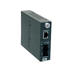Trendnet - TFC-110MST 200Mbit/s 1300nm Multimodo Gris convertidor de medio