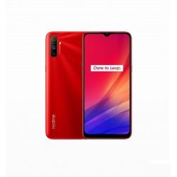 "realme - C3 16,5 cm (6.5"") 3 GB 64 GB SIM doble 4G MicroUSB Rojo Android 10.0 5000 mAh"