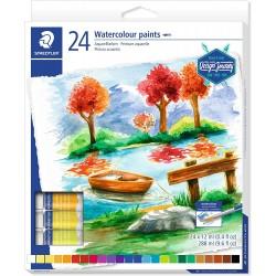 Staedtler - 8880 pintura a base de agua Multi 12 ml Tubo 24 pieza(s)