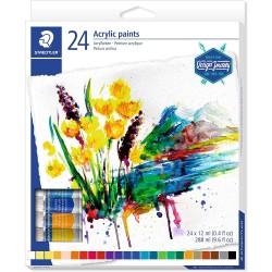 Staedtler - 8500 pintura acrílica Multi Tubo 12 ml - 8500 C24
