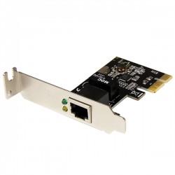 StarTech.com - Tarjeta de Red PCI Express de 1 Puerto Gigabit Ethernet RJ45 - Adaptador NIC PCI-e - Perfil Bajo