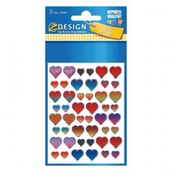 Avery - 55209 etiqueta decorativa engomada Papel Multicolor Permanente 48 pieza(s)